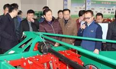 安徽省农机推广系统领导来希森天成进行调研